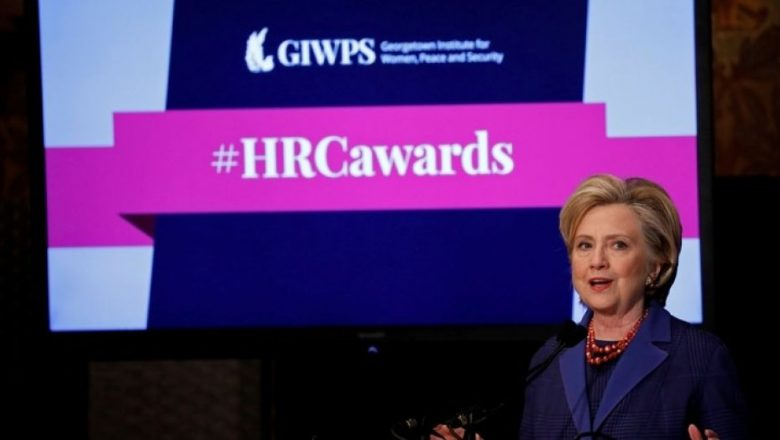 Clinton again blames 'misogyny and sexism' for 'what happened' in 2016