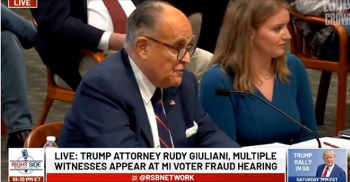 """STEVEN CROWDER SHARES EPIC CLIP: """"THE MOMENT RUDY GIULIANI WENT THUG LIFE ON A MICHIGAN DEMOCRAT"""""""