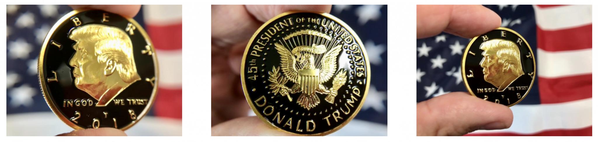 daily patriot trump coin