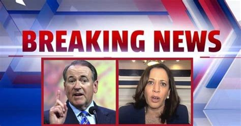 Huckabee Turns Up Impeachment Heat For Kamala – Mike Says She Could Be Thrown Out If Congress Had One Standard For Both Parties